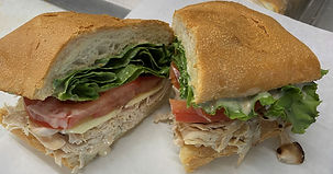 A picture of a Sioux-Z-Wow special sandwich.