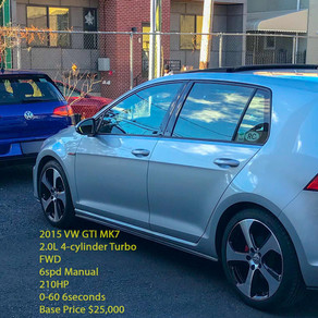 NEW YOUTUBE VIDEO/GALLERY-IS THE VW GOLF R WORTH $10K MORE THAN A GTI?