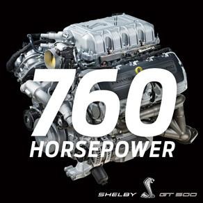 760 HORSEPOWER, 625 LB.-FT.: 2020 MUSTANG SHELBY GT500