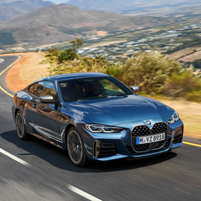 THE NEW 2021 BMW 4 SERIES COUPE-O my grille