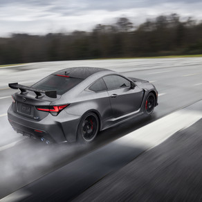 2020 LEXUS RC F AND RC F TRACK EDITION