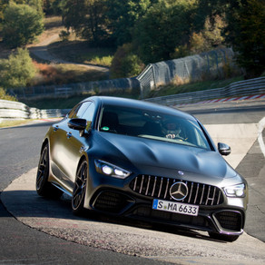MERCEDES-AMG GT 63 S IS THE FASTEST SERIES PRODUCTION FOUR-SEATER ON THE NORTH LOOP OF THE NÜRBURGRI
