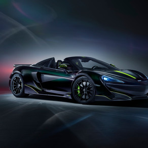 THE LAST OPEN TOP McLAREN 600LT ARRIVE STATESIDE - WITH AN ADDED MSO Twist
