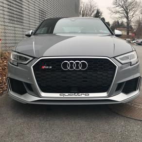Picking up 2018 Audi RS3