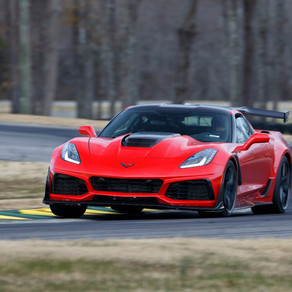 CORVETTE ZR1 SETS LAP RECORD AT VIR