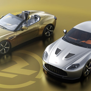 ASTON MARTIN VANTAGE V12 ZAGATO HERITAGE TWINS BY R-REFORGED CONFIRMS SPECIFICATION AND UK PRODUCTIO