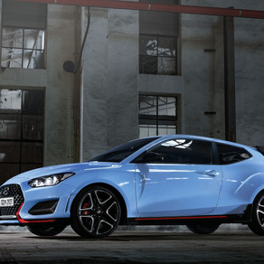 HYUNDAI UNVEILS THE NEW VELOSTER N WITH 8-SPEED DCT