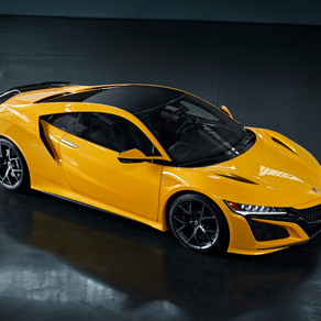 2020 ACURA NSX DEBUTS HERITAGE COLOR - INDY YELLOW PEARL