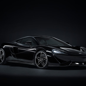 McLAREN 570GT IS BACK IN BLACK WITH THE MSO BLACK COLLECTION LIMITED TO 100 EXAMPLES WORLDWIDE