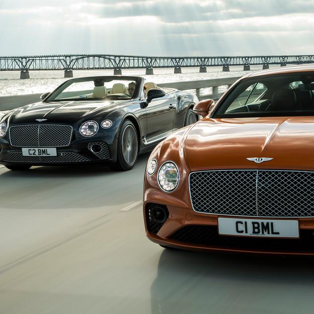 Bentley Continentl GT & GT Convertible V