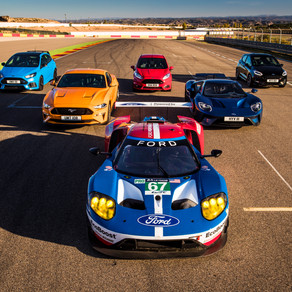 Epic Ford Track Showdown