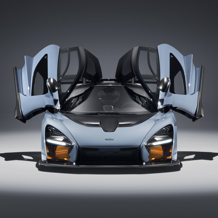 McLaren Senna Victory Grey 15