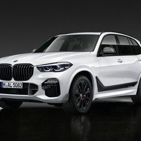 BMW X5 adds Performance Parts and Carbon Fiber to the options list