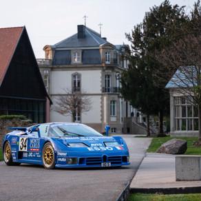 BUGATTI EB 110 LEGEND - THE FIRST MODERN SUPER SPORTS CAR