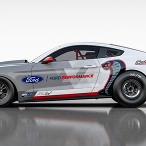 FORD PERFORMANCE INTRODUCES ALL-ELECTRIC MUSTANG COBRA JET 1400, FORD'S FIRST FACTORY FULLY ELECTRIC