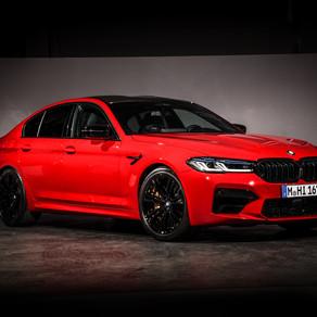 THE NEW 2021 BMW M5 SEDAN