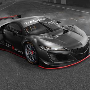 NSX GT3 EVO to race soon