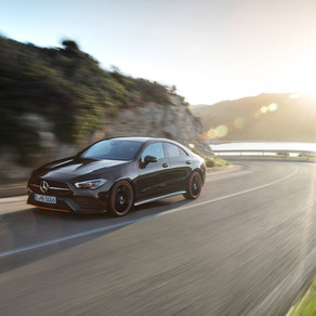NEW MERCEDES CLA 'COUPE'-FULL OF TECH