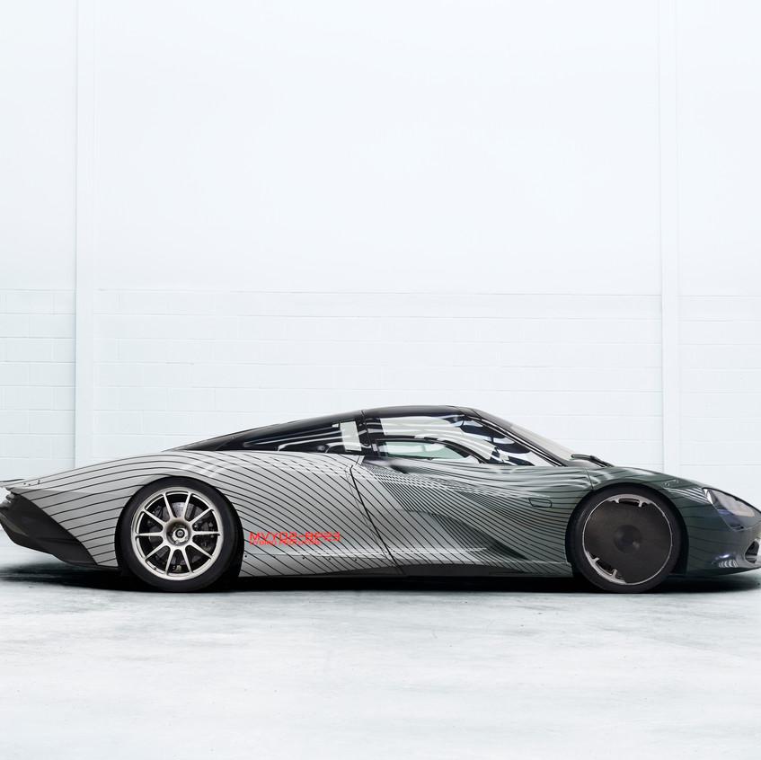 McLaren Speedtail Attribute Prototype -