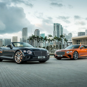 BENTLEY Continental GT V8 COUPE/CONVERTIBLE
