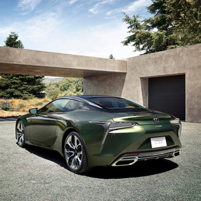 2020 LEXUS LC 500 INSPIRATION SERIES PAIRS CLASSIC COLOR PALETTE WITH CUTTING EDGE DESIGN