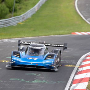 VOLKSWAGEN ID. R SETS NEW ELECTRIC RECORD ON THE NÜRBURGRING