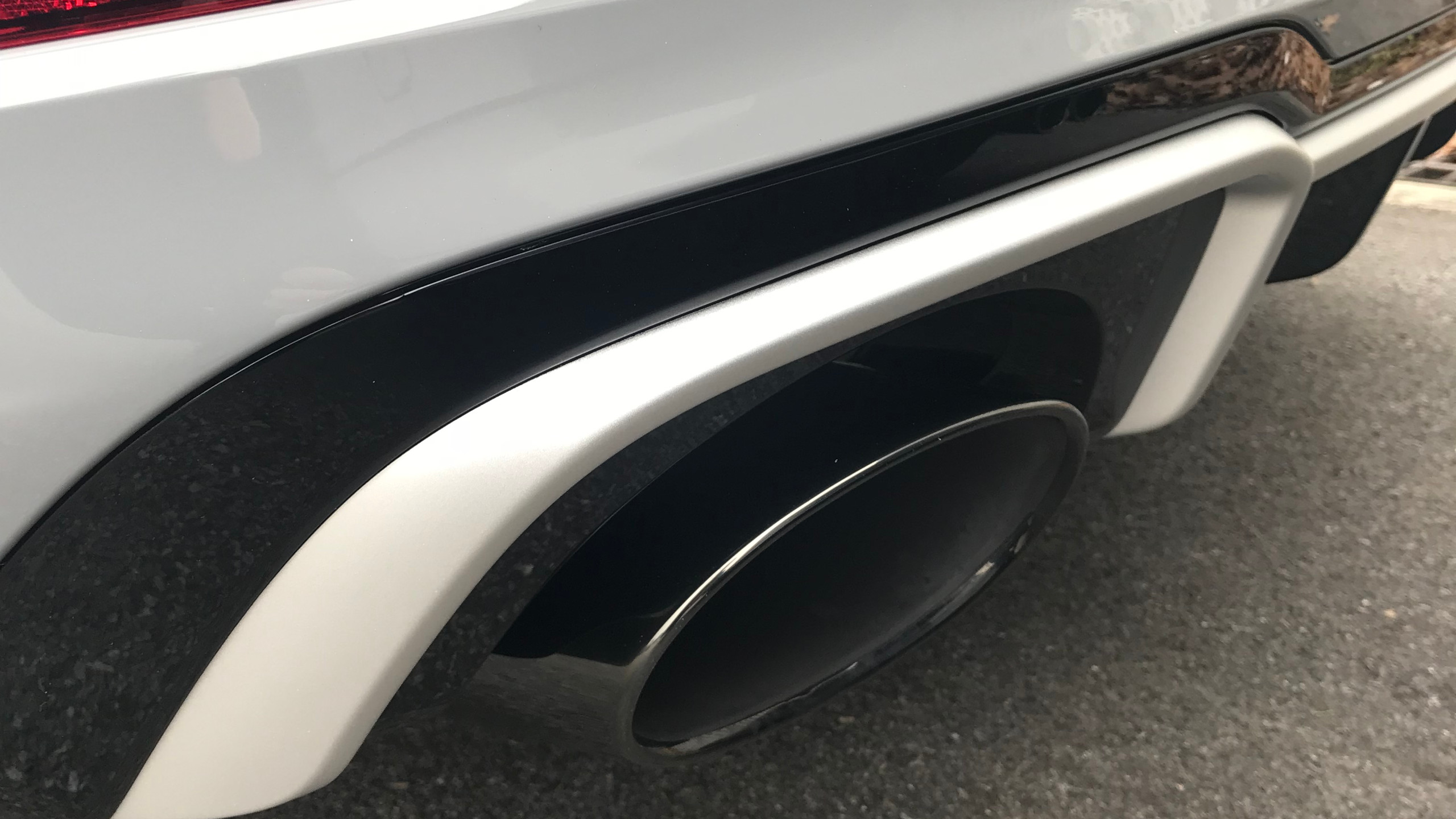 RS3 exhaust