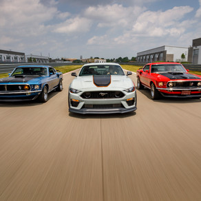 LIMITED-EDITION ford MACH 1 IS PINNACLE OF MUSTANG 5.0-LITER V8 STYLE AND PERFORMANCE