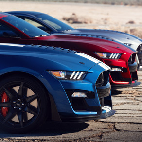 MOST POWERFUL STREET-LEGAL FORD IN HISTORY: ALL-NEW SHELBY GT500
