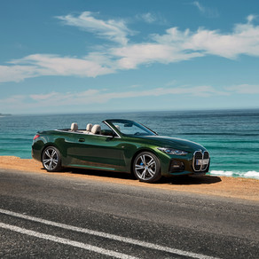 THE NEW 2021 BMW 4 SERIES CONVERTIBLE