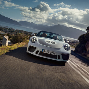 2019 PORSCHE 911 SPEEDSTER WITH OPTIONAL HERITAGE DESIGN PACKAGE