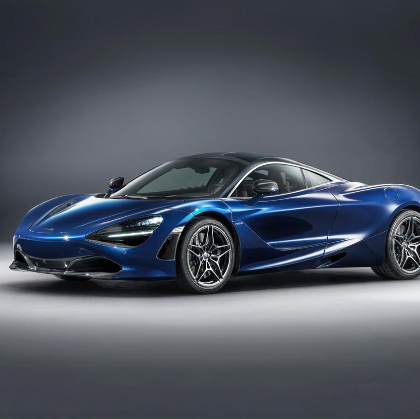 McLaren 720S in Atlantic Blue by MSO-1