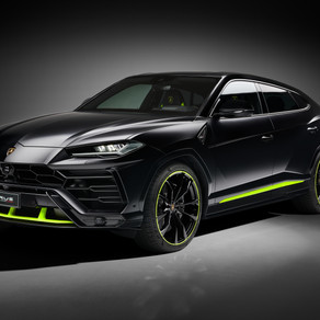 LAMBORGHINI PRESENTS THE URUS GRAPHITE CAPSULE