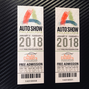GIVEAWAY...Philly Auto Show Tickets