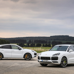 PORSCHE CAYENNE TURBO S E-HYBRID MODELS ANNOUNCED