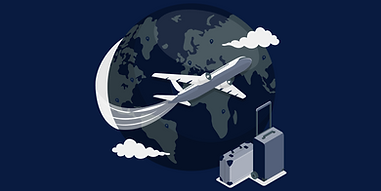 Flying around the world-amico.png