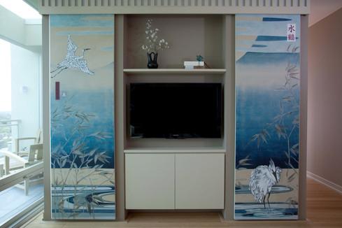 Crane Mural