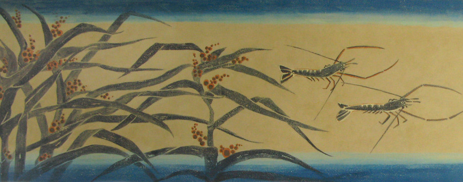 Japanese Landscape Mural