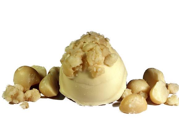 White Chocolate Macadamia Nut Truffle