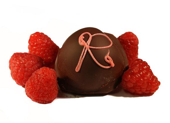 Raspberry Dark Chocolate Truffle - Diabetic Friendly