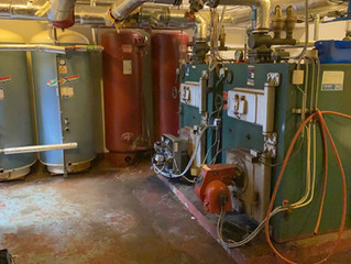 Ny varmesentral på Lavangen Skole, Tennevoll, Troms