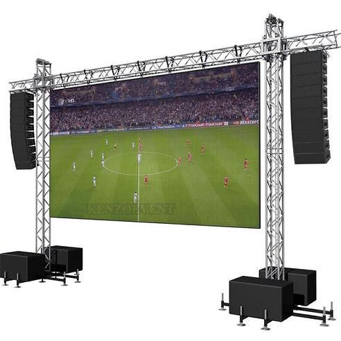 Aluminum-Truss-Backdrop-for-Hanging-LED-