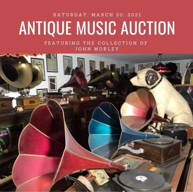 March 20 - Phonographs & Radios March 21 General Antiques