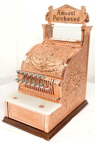 Copper Cash Register