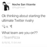 🌮 v. 🍕_._follow _nyghtman to RT, What