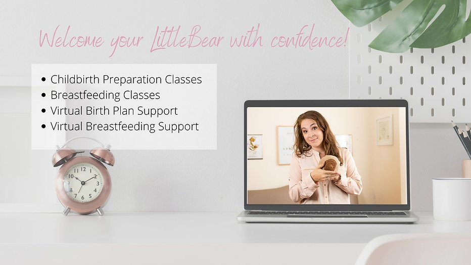 Online Childbirth Class Online Breastfeeding Class Virtual Lactation Consultant IBCLC online breastfeeding help and support for a positive birth experience and successful breastfeeding