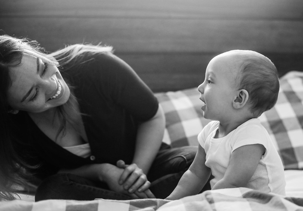 Mommy and Me Lifestyle Photograph