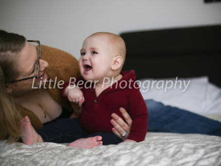 Breastfeeding Photography | Jessica & Luca | South Jersey | Motherhood Photography