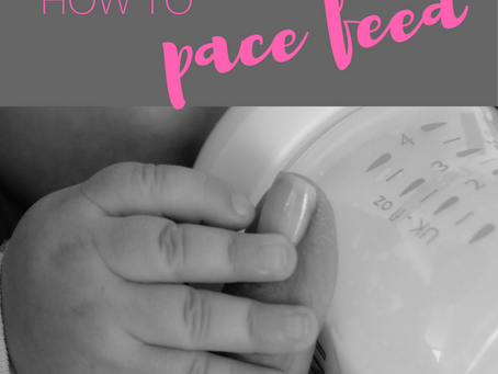 Avoiding Bottle Preference: Paced Feeding a Breastfed Baby