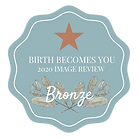 birth becomes her birth photography image review badge birth photographer contestant finalist award winning birth photographer